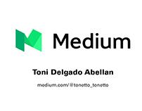 Mi perfil en Medium