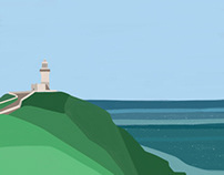 Minimalist Landscapes Byron Bay