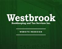 Westbrook Bookkeeping & Tax - Website Redesign