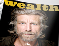 Branding and Editorial Design: Wealth Magazine