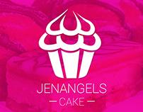 Identidad corporativa /Branding identity Jenangels Cake