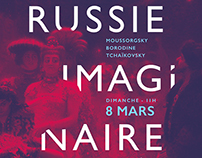 The Russian imaginary - Poster design