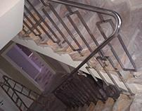 Stainless steel railing by Inox G-art