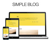 Simple Blog - Wordpress Theme