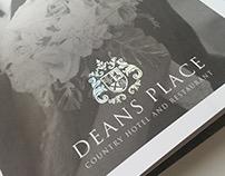 Deans Place Hotel - Wedding Marketing Brochure