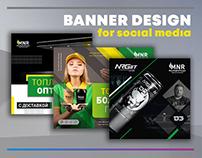 BANNER DESIGN for social media