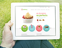 Pinkberry Web Design