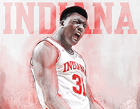 2016-17 IU Basketball Posters