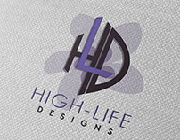 High-Life Designs Logo Design