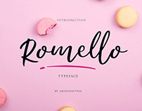 Free Romello Script Font