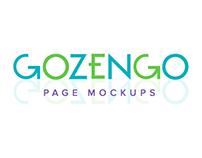 GOZENGO: Page Mockups