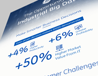 GE: The Opportunity of Industrial Big Data Infographic
