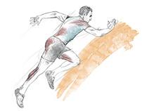 Illustration Sprinter