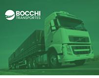 Logo Bocchi Transportes