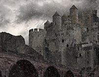 Fortress - matte painting