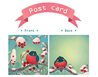 Animal Post cards