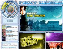 MTV's Next World concept game design.