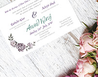 Wedding Invitation - BRAND CREATION + PRINT