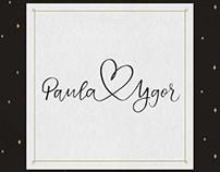 Wedding 3 · Invitation, calligraphy and illustration