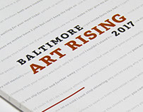 Baltimore Art Rising Publication