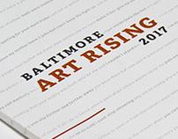 Baltimore Art Rising Publication