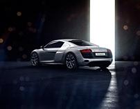 Audi R8 V10 CGI