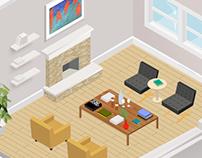 Room Size Selection, Paintzen