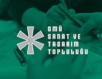 OMÜ Sanat ve Tasarım Topluluğu - Logo Design