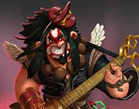 Tengu, Heavy Metal