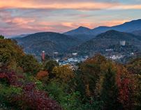 Gatlinburg Sunset - Great Smoky Mountains