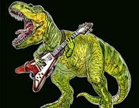 Heavy metal dinosaur