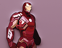 IRON MAN (ILLUSTRATION)