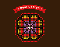 Real coffee. Identity