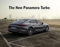 Porsche : The new Panamera Turbo teaser