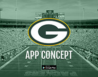 Green Bay Packers Android App Concept - NFL