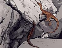Compsognathus vs Bavarisaurus