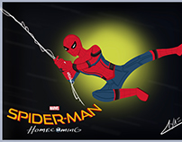 """Spider-Man: Homecoming"", fan art"
