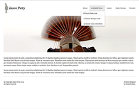 Jason Petty - Website Design Concept