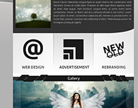 Web designer portfolio - website