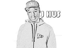 J HUS x Sketch