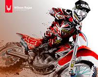 Motocross - Vector