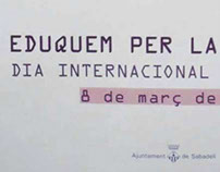 2º Premio cartel Día Internacional de la Mujer