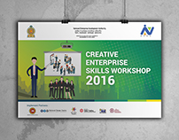 Creative Banner - Creative Enterprise Skills Workshop