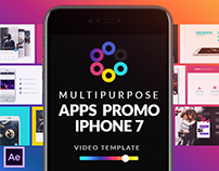 Multipurpose Apps Promo for iPhone 7