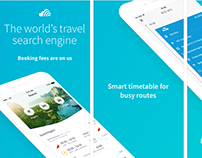 Skyscanner App Store previews