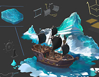 Pirate ship concept