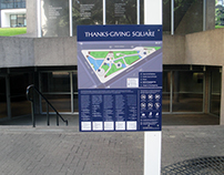 Thanks-Giving Square Wayfinding