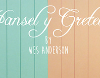 H&G - Poster Movie Wes Anderson