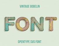 Vintage Gobelin Font