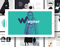 WAGNER - FREE POWERPOINT TEMPLATE